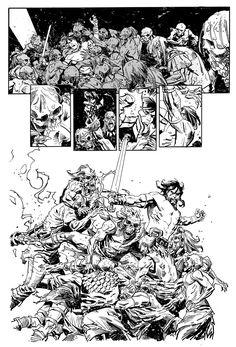 Conan Battle by urban-barbarian on DeviantArt