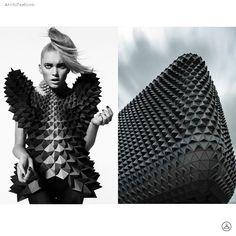 Geometrical Fashion and Architecture . . . . . . #DanielLibeskind #Highfashion #hautecouture #Archilovers #Architecture #Design #Collaboration #art #photooftheday #Fashion #Dailysnap #photography #art #건축 #디자인 #t소통 #nyclife #ny #travel #snap #photo #beautiful #패션 #建築 #likeforlike #follow4follow #ファッション #設計 #设计 #时尚 #建筑