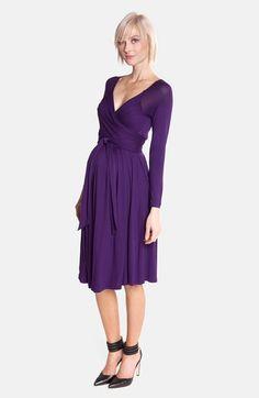 Olian Jersey Maternity Wrap Dress | Nordstrom