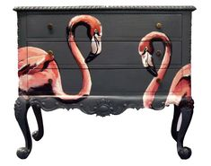 Jimmie Martin Flamingo Chest