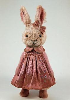 Shelly the Rabbit Maker Latest Creation! Isn't she delightful?