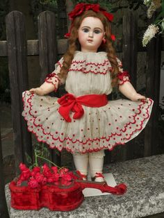 ~~~ Beautiful French Bisque Bebe Jumeau with wonderful Appearance ~~~ from whendreamscometrue on Ruby Lane