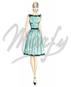 Sewing pattern DressSewing Pattern 3453