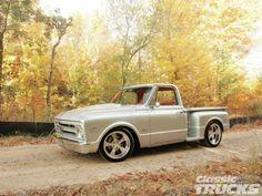 1968 Chevrolet C10 Stepside - Classic Trucks Magazine