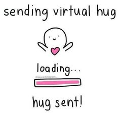 Virtual hug lol   We Heart It