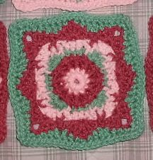 Christal's Crochet - Friend Family Square