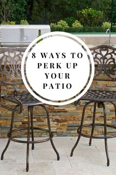 Looking for ways to perk up your outdoor space for Spring? Looking for new bright décor you love? | Here are 8 ways to perk up your patio or porch
