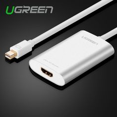 Ugreen Thunderbolt Mini DisplayPort To HDMI Adapter Cable Display Port DP Cable For Apple MacBook Air Pro iMac Mac Surface Pro