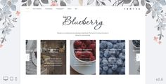 Blueberry - A Responsive WordPress Blog Theme . Blueberry is a lightweight & responsive WordPress Theme for personal blogs, with a lot of features, and clean & modern design. Make your blog awesome and help your fans focus on every word you