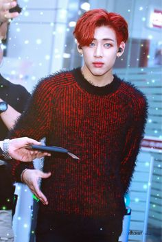 GOT7 Bambam, am I the only one who s actually scared of this silly kid in this picture? O.o
