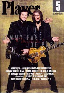 MAGE MUSIC: 2004 April Player Magazine (Ross Halfin photo www.rosshalfin.com)