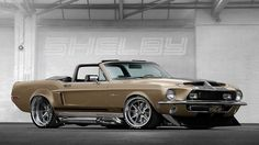 1968 - Shelby GT500KR Mustang Convertible   Flickr