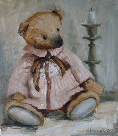 Картина А. Рябчевской #teddybear
