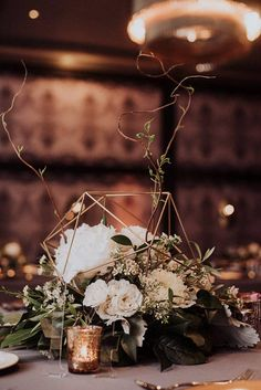 ***PRODUCT DESCRIPTION*** Make your wedding or special event unique and stylish with our stunning COPPER table centerpiece ornaments. Each one is assembled with care by the designer and owner of Modlode. Our spheres are made from copper tubes woven together using a copper wire. Due to the