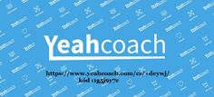 YeahCoach is application where you can find all you need for your personal growt.This application is a complex solution for everyone who is willing to improve his personal life, work and enterprise. YeahCoach is a practical help containing unique tools, materials, books and live actions from the best coaches, lectors and authors from all over the world. YC gives you the opportunity to help others and also ask for help and even more, gives the chance to educate by sharing this application.