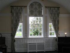 Curtain installation at Ramsay Manor