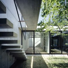 Still by Apollo Architects and Associates @Eugene Cha I like having central courtyards--don't need curtains