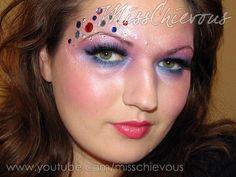 DIY Halloween Makeup : Halloween Make up Princess/Fairy