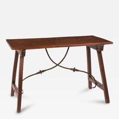 Spanish Renaissance Walnut Table