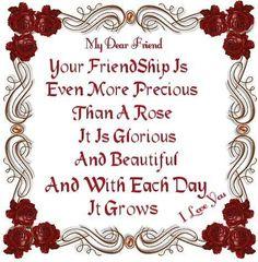 My Dear Friend