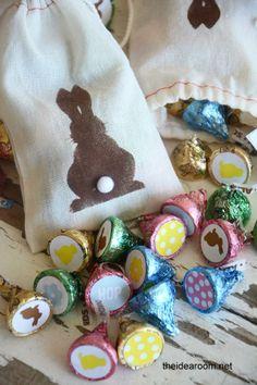 DIY Bunny Kisses Easter Gift