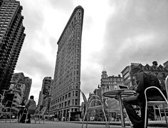 NY photography - Flatiron building - lovely perspective