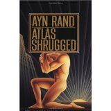 Atlas Shrugged by Ayn Rand. It is awfully long, but really great. If you have never read anything by Ayn Rand, you really should.she is a very philosophical kind of writer. Book Club Books, Books To Read, My Books, Book Bar, Oprah Winfrey, Reading Lists, Book Lists, Reading Books, Atlas Shrugged Movie