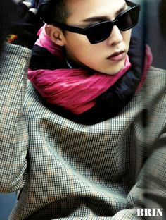 G-DRAGON IN PARIS 2014. Is it weird that I'm pinning this to my ideal wardrobe board? lol GD style is always on point