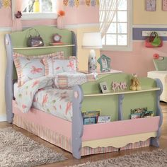 Doll House Twin Sleigh Bed by Signature Design by Ashley Furniture