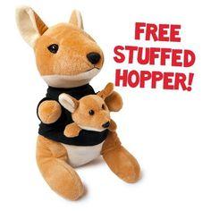 Saving 4 A Sunny Day: Get A Free Stuffed Kangaroo