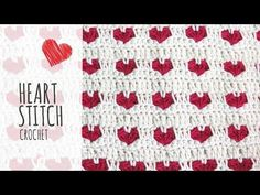 How to crochet the heart stitch (video tutorial)