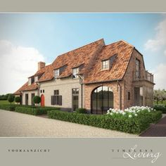 I think I'm in love with this Belgian house! - from Timeless Living