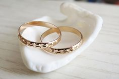 Rose gold ring Stacking rings Knuckle Rings Band by RomisJewelry, $19.00