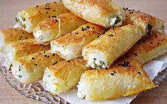 Baklavalik Yufkadan Peynirli Borek - borektarifleri.gen.tr