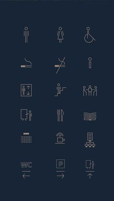 IDIA branding and Signage Signage Design, Pictogram, Behance, Branding, Symbols, Icons, Architecture, Art, Arquitetura