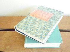vintage poetry set by famous poet edna st. Teal, Turquoise, Aqua, Famous Poets, Poetry, Sea Foam, Blues, Vintage, Green