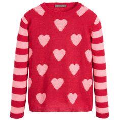 Miss Grant - Heart Sweater | Childrensalon