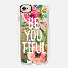 Be YOU Tiful Watercolor Floral -