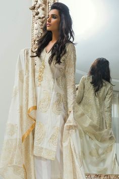 Shirin Hassan Summer Collection 2015 #shirinhassan #lawnfever #lawn2015 #pakistanilawn #amnailyas
