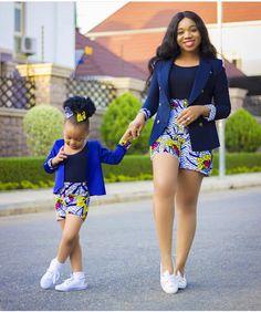 African Print/ Ankara Blouse and Skirt/ African Clothing/ Ankara Print : African Fashion Ankara, African Fashion Designers, Latest African Fashion Dresses, African Print Fashion, Africa Fashion, Ankara Styles For Kids, African Dresses For Kids, African Print Dresses, African Kids