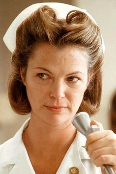 """""""If Mr. McMurphy doesn't want to take his medication orally, I'm sure we can arrange that he can have it some other way."""" ~ Nurse Ratched . (Louise Fletcher) .. One Flew Over The Cuckoos Nest"""