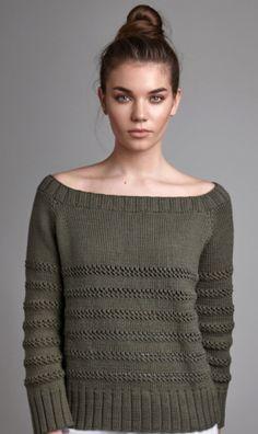 Вязаный пуловер Canvas | ДОМОСЕДКА