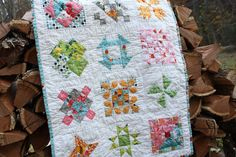 Deshilachado: Bloques de patchwork. Tutoriales. / Quilt blocks tutorials.