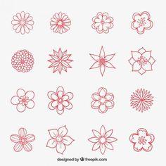 Resultat d'imatges de dibujar flores hawaiianas paso a paso