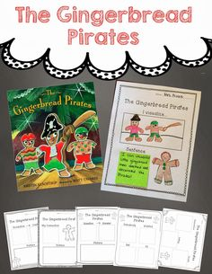 mrs. prince & co.: HOLIDAY sticky note pack and the SALE! The Gingerbread Pirates