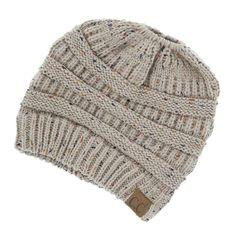 cd2ad76fbe1fe Amazon.com   Nacome Womens Slouchy Beanie Winter Hat Knit Warm Snow ...