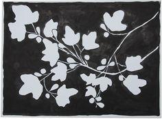Fig Leaf Blotch by Kate Roebuck  www.shopbowerbird.com