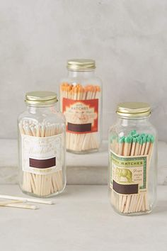 so beautiful - i can't believe people get paid to make these. Skeem Match Jar - anthropologie.com