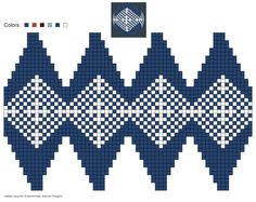 created using Schachenmayr #Julekuler Designer #christmas