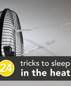 Since the weather can change faster than our HVAC system can these tips may help in that interim period.